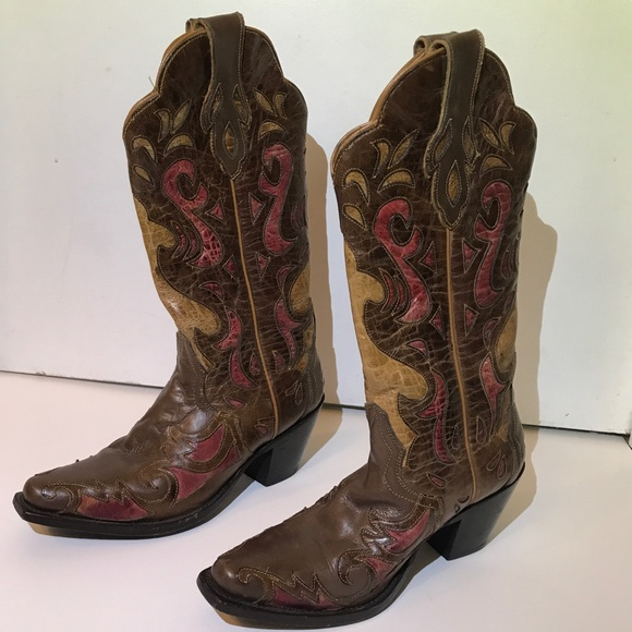 86c426806b2 Nashville Leather Sterling River Cowboy Boots